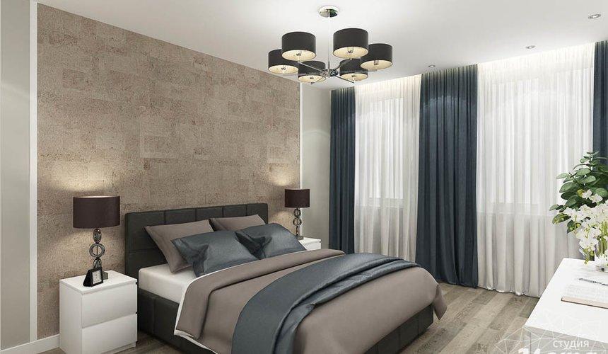 Дизайн интерьера двухкомнатной квартиры в ЖК Крылов 15