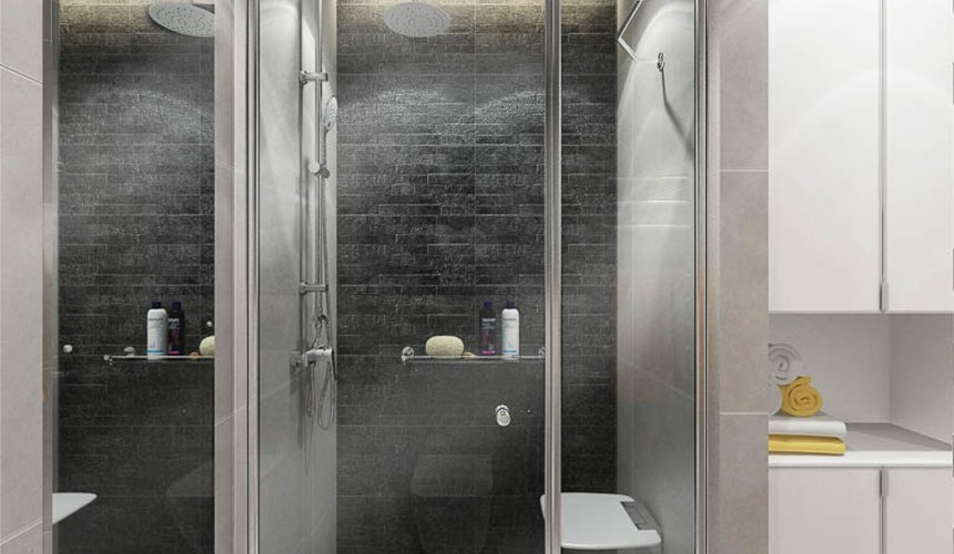 Дизайн интерьера двухкомнатной квартиры в ЖК Крылов 24