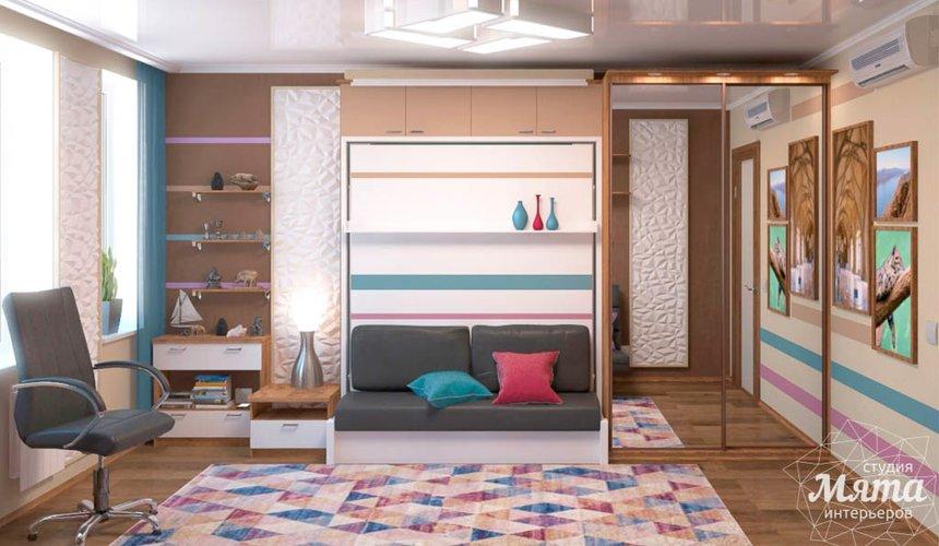 Дизайн интерьера однокомнатной квартиры по ул. Соболева 19 5