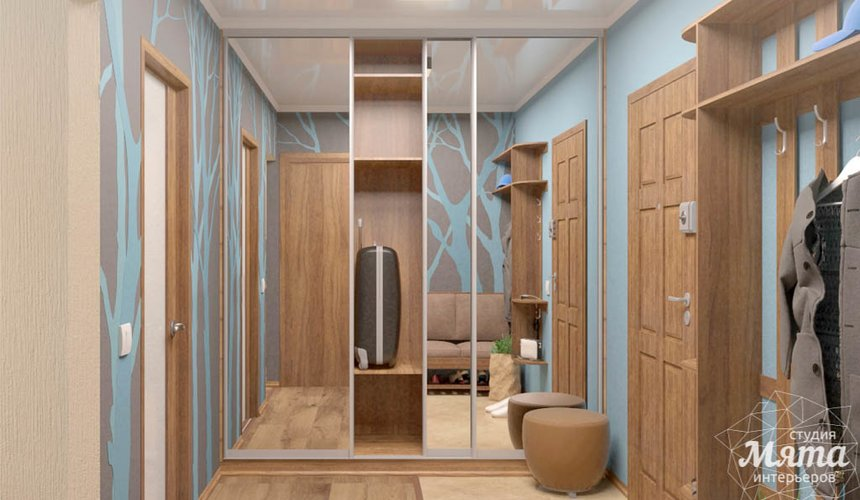 Дизайн интерьера однокомнатной квартиры по ул. Соболева 19 13