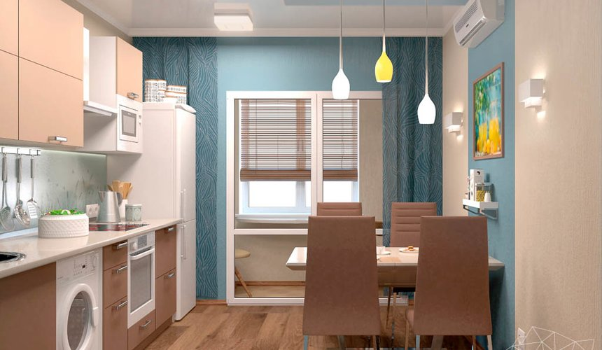 Дизайн интерьера однокомнатной квартиры по ул. Соболева 19 6