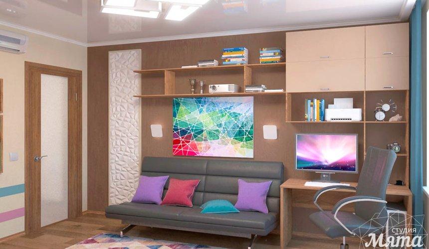 Дизайн интерьера однокомнатной квартиры по ул. Соболева 19 2