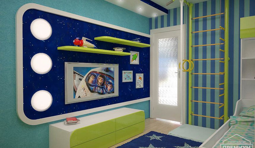Дизайн интерьера детской по ул. Радищева 33 5