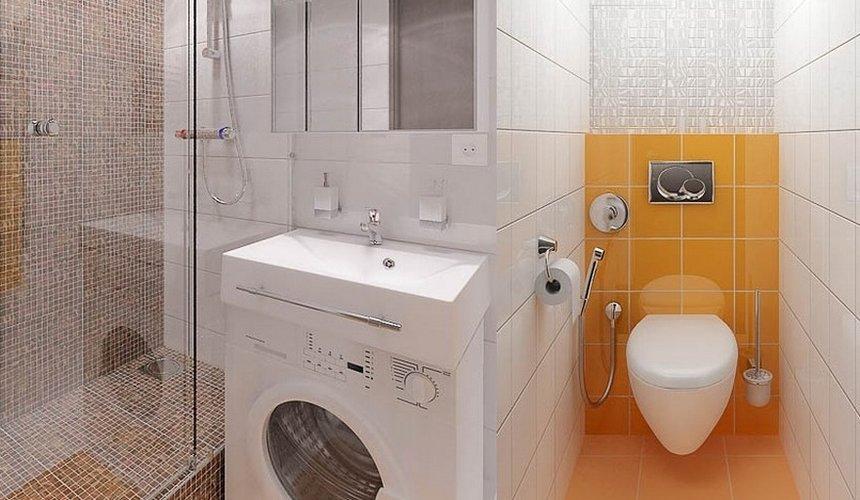 Дизайн интерьера и ремонт ванной комнаты и прихожей по ул. Крауля 70 6