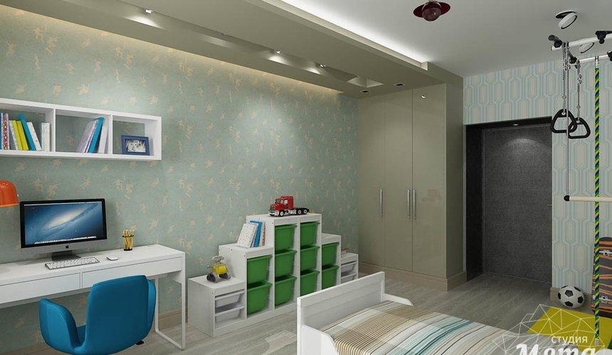 Дизайн интерьера и ремонт четырехкомнатной квартиры по ул. Союзная 2 62