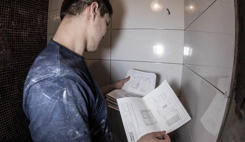 Дизайн интерьера и ремонт ванной комнаты и прихожей по ул. Крауля 70 3