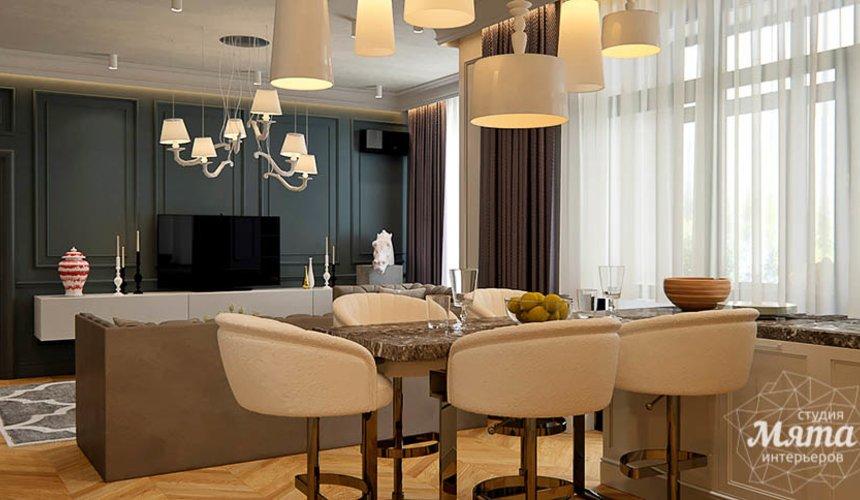 Дизайн интерьера четырехкомнатной квартиры в Новосибирске 5