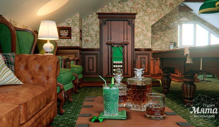 Дизайн интерьера бильярдной в п. Палникс 4
