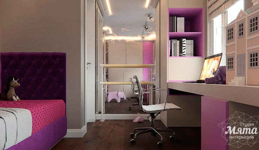 Дизайн интерьера трехкомнатной квартиры по ул. Шейнкмана 88 17