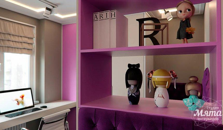 Дизайн интерьера трехкомнатной квартиры по ул. Шейнкмана 88 21