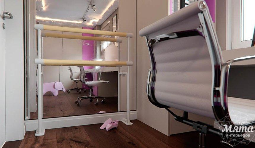 Дизайн интерьера трехкомнатной квартиры по ул. Шейнкмана 88 22