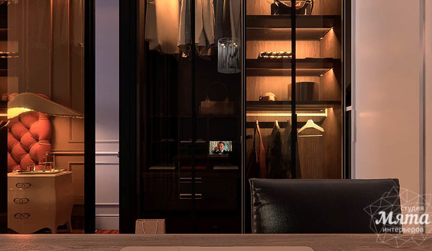 Дизайн интерьера четырехкомнатной квартиры в Новосибирске 25