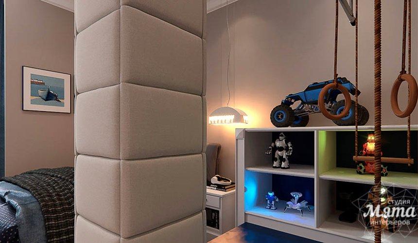 Дизайн интерьера четырехкомнатной квартиры в Новосибирске 32