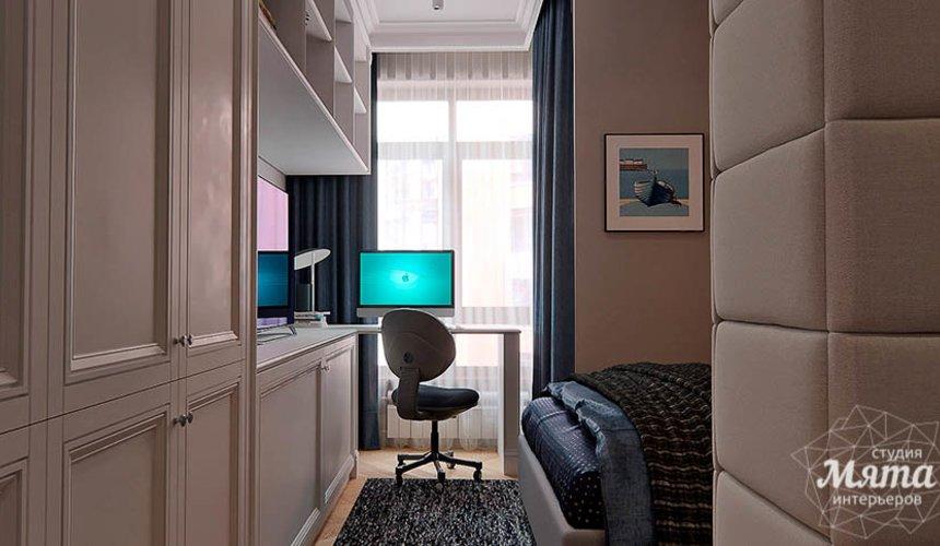 Дизайн интерьера четырехкомнатной квартиры в Новосибирске 33
