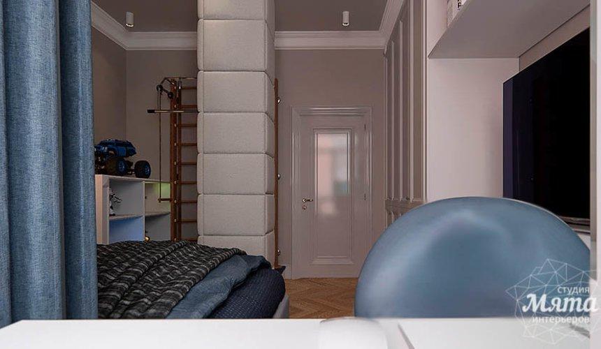 Дизайн интерьера четырехкомнатной квартиры в Новосибирске 34