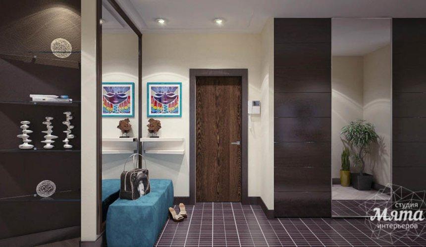 Дизайн интерьера трехкомнатной квартиры Шейнкмана 121 3