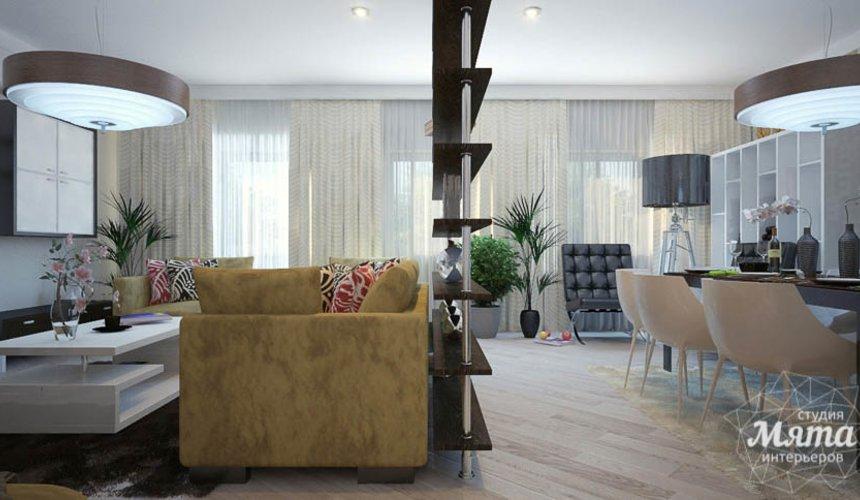 Дизайн интерьера трехкомнатной квартиры Шейнкмана 121 5