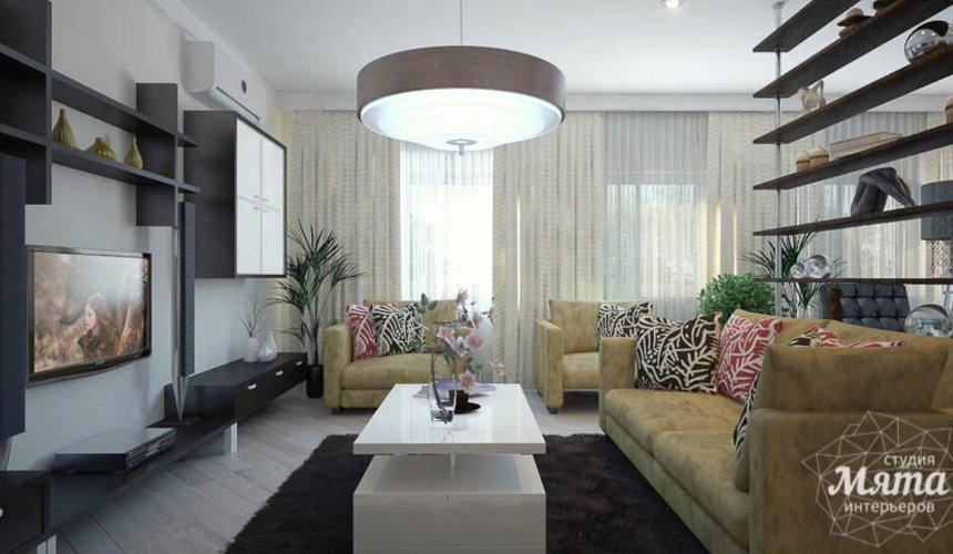 Дизайн интерьера трехкомнатной квартиры Шейнкмана 121 6