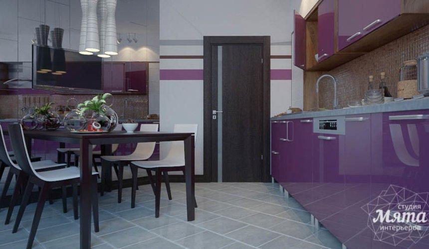 Дизайн интерьера трехкомнатной квартиры Шейнкмана 121 9