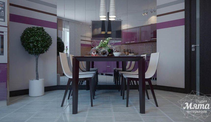 Дизайн интерьера трехкомнатной квартиры Шейнкмана 121 14