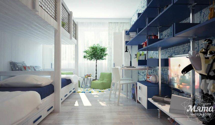 Дизайн интерьера трехкомнатной квартиры Шейнкмана 121 22