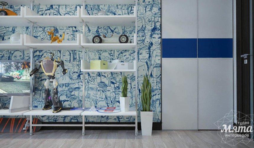 Дизайн интерьера трехкомнатной квартиры Шейнкмана 121 31