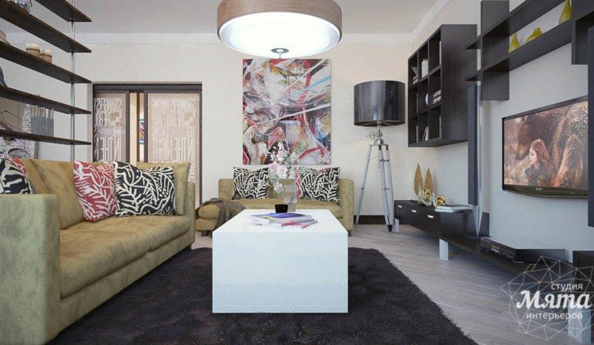 Дизайн интерьера трехкомнатной квартиры Шейнкмана 121 36