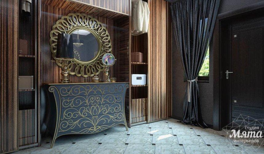 Дизайн интерьера коттеджа в Новосибирске  3