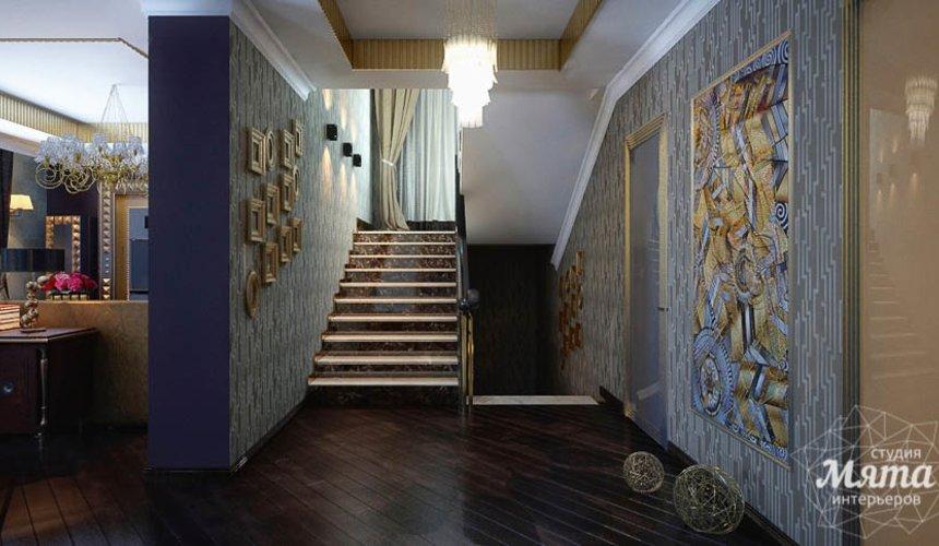 Дизайн интерьера коттеджа в Новосибирске  11