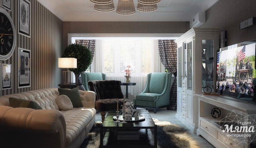 Дизайн интерьера двухкомнатной квартиры по ул. 8 марта 188 8