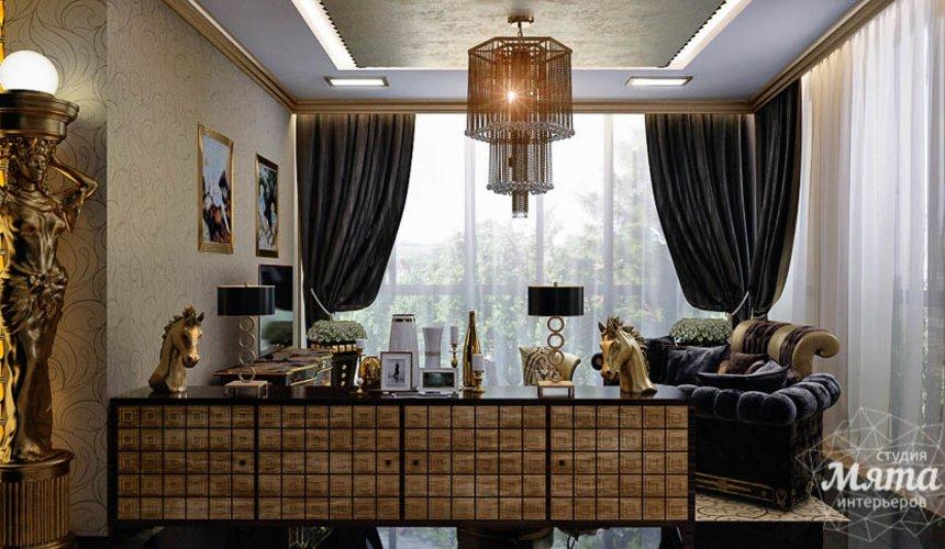 Дизайн интерьера коттеджа в Краснодаре 12
