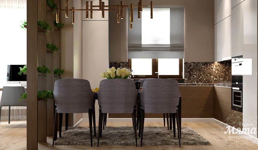Дизайн интерьера двухкомнатной квартиры в Сочи 7