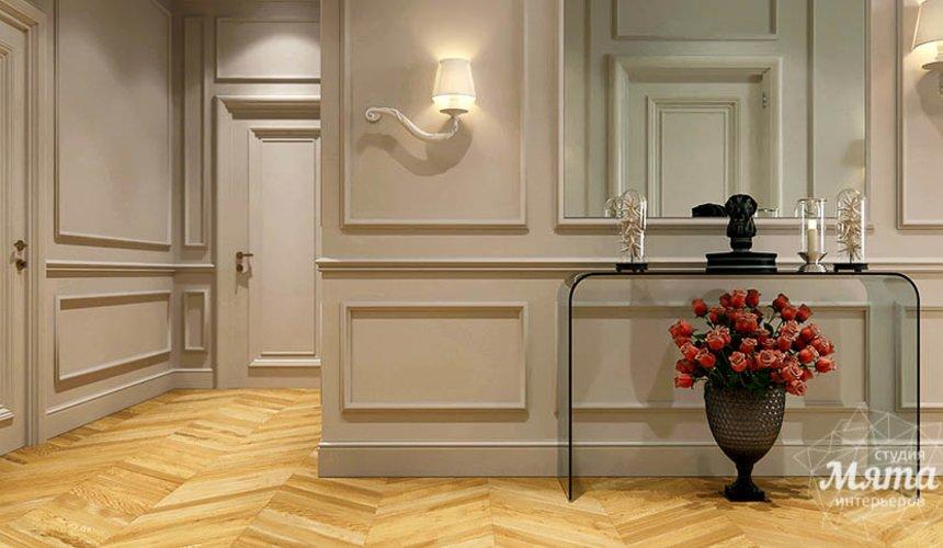 Дизайн интерьера четырехкомнатной квартиры в Новосибирске 15