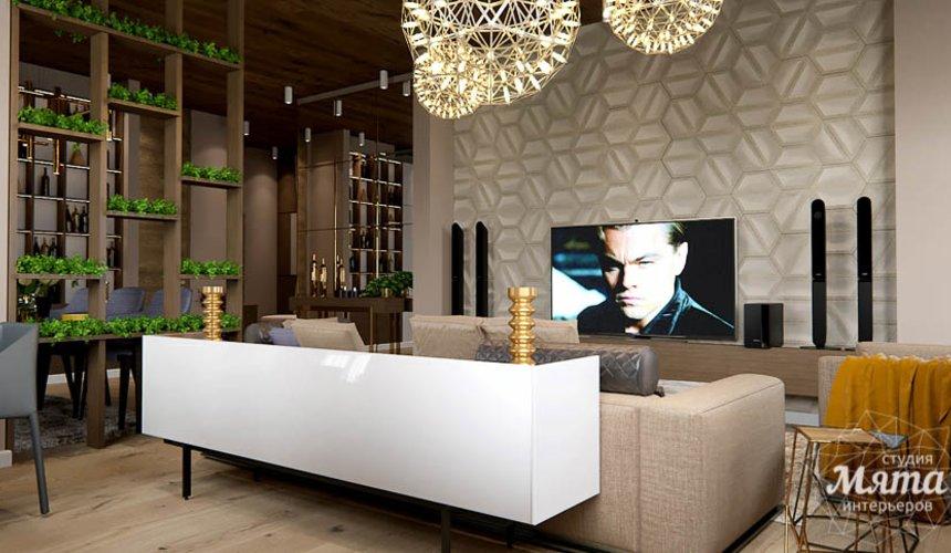 Дизайн интерьера двухкомнатной квартиры в Сочи 13