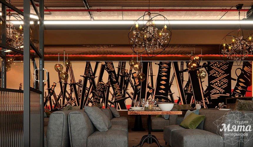 Дизайн интерьера кафе в Сочи  14