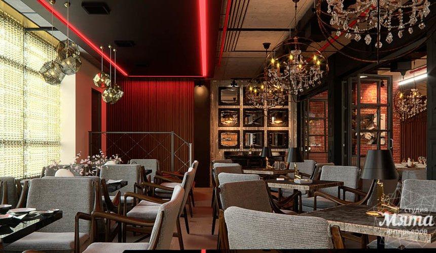 Дизайн интерьера кафе в Сочи  16
