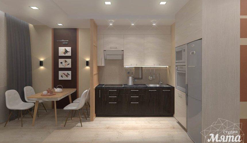 Дизайн интерьера однокомнатной квартиры в ЖК Крылов 5