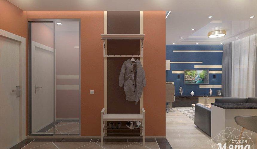 Дизайн интерьера однокомнатной квартиры в ЖК Крылов 19