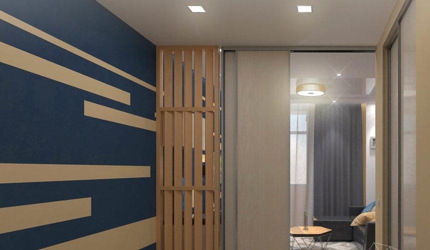 Дизайн интерьера однокомнатной квартиры в ЖК Крылов 13