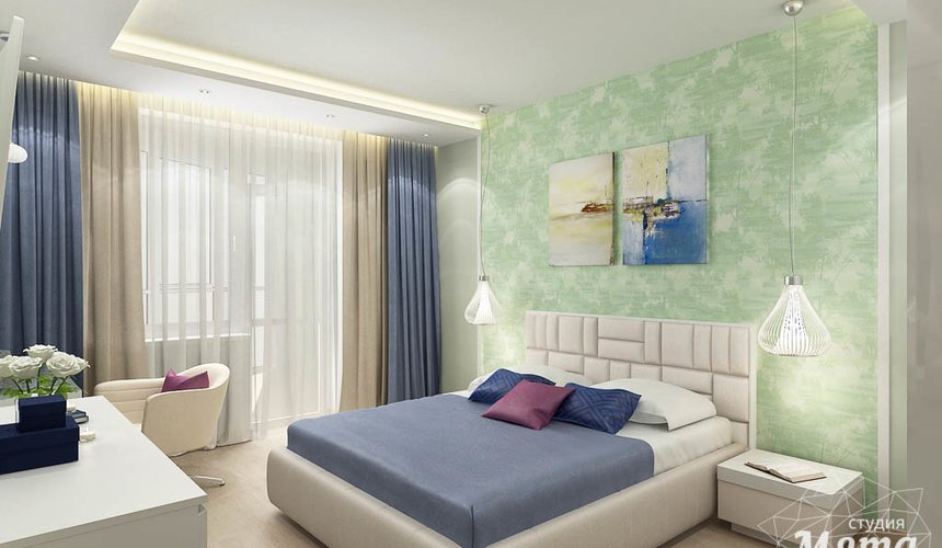Дизайн интерьера трехкомнатной квартиры по ул. Куйбышева 21 11