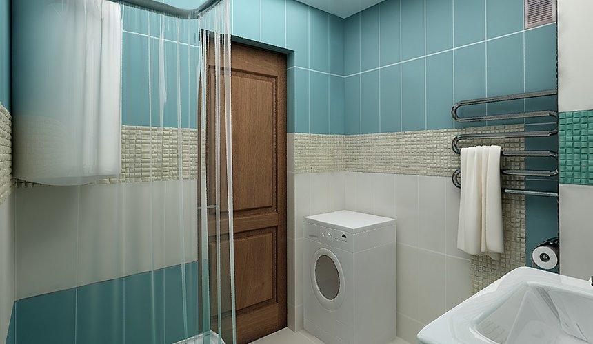 Дизайн интерьера ванной комнаты по ул. Фурманова 48 5
