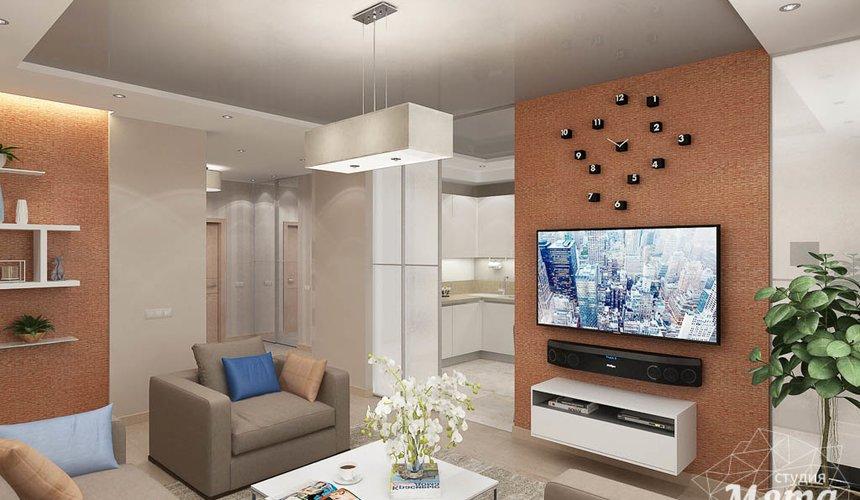 Дизайн интерьера трехкомнатной квартиры по ул. Куйбышева 21 2