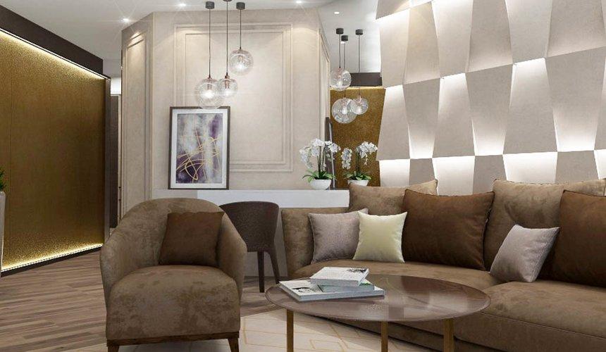 Дизайн интерьера и ремонт трехкомнатной квартиры по ул. Кузнечная 81 62