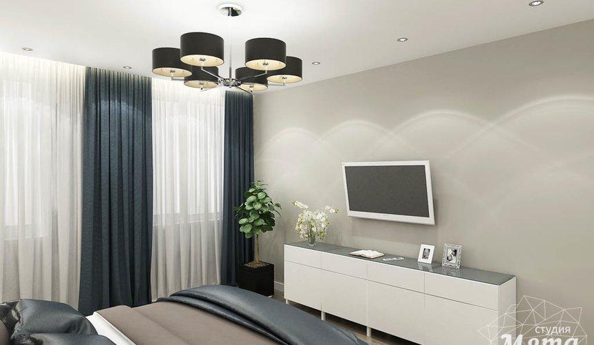Дизайн интерьера двухкомнатной квартиры в ЖК Крылов 16