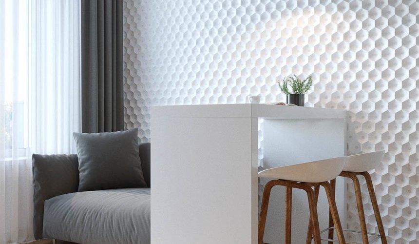 Дизайн интерьера однокомнатной квартиры в ЖК Чемпион Парк 7