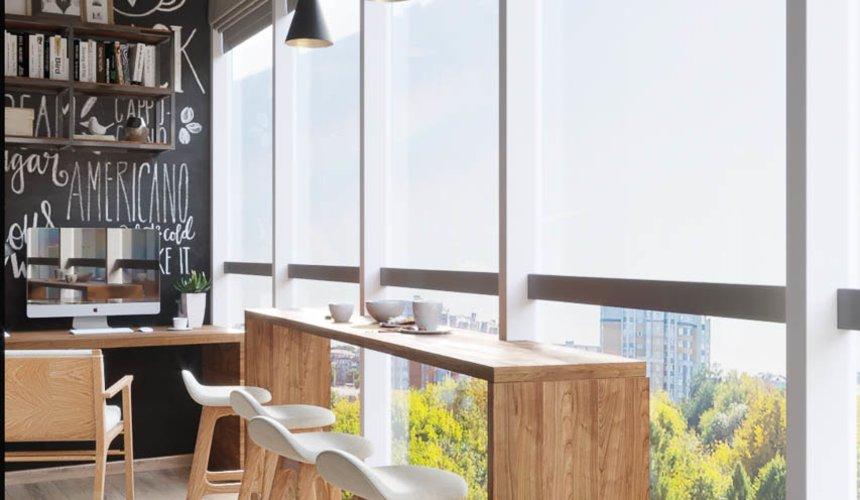 Дизайн интерьера однокомнатной квартиры в ЖК Чемпион Парк 9