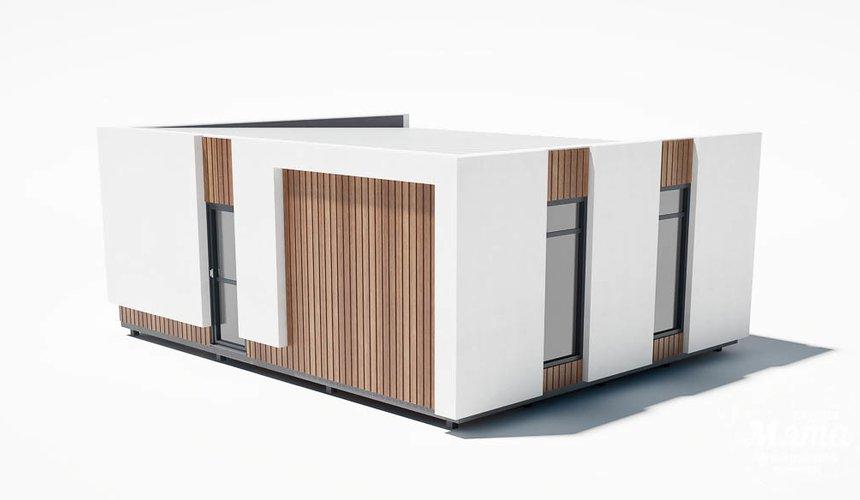 Дизайн фасада модульного дома в п. Новое Созвездие 4