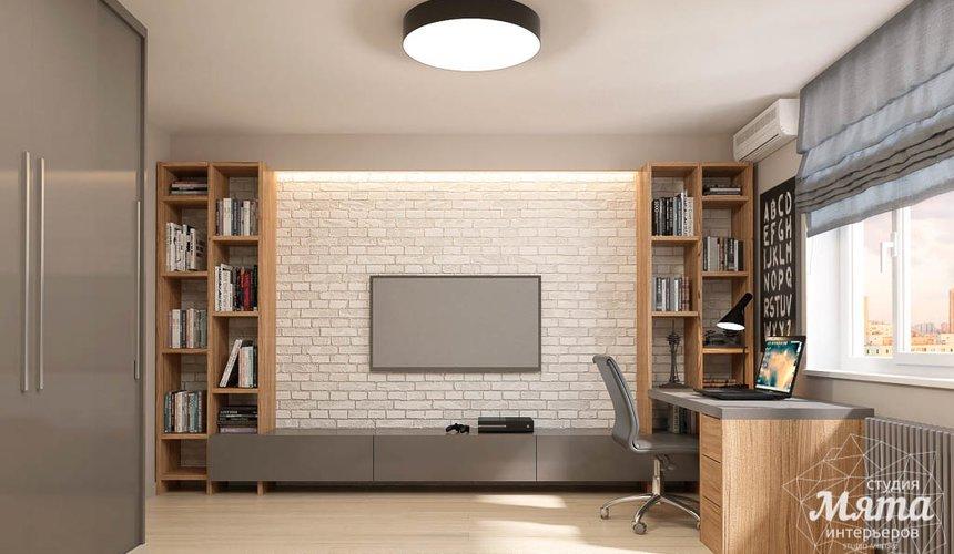 Дизайн интерьера трехкомнатной квартиры в ЖК Малевич 9