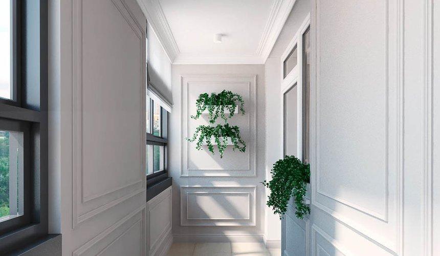 Дизайн интерьера трехкомнатной квартиры в ЖК Малевич 21