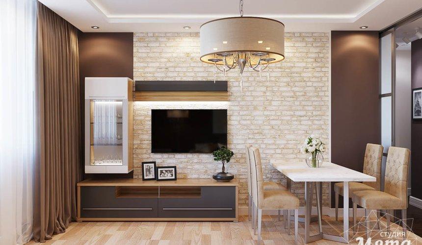 Дизайн интерьера трехкомнатной квартиры по ул. Фурманова 103 3